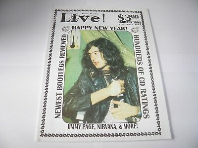 Music Review Live - Jan 1995 Jimmy Page Led Zeppelin Cover.  • 22.99£