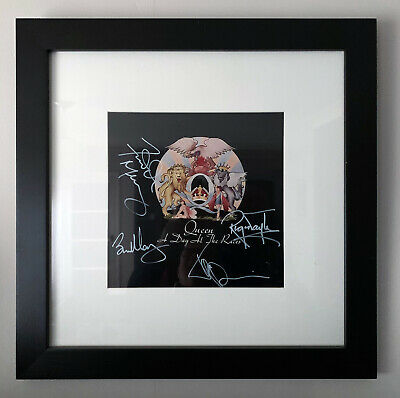 Queen Autographs + Freddie Mercury A Day At The Races Purchased In 2000 + COA • 2,700£