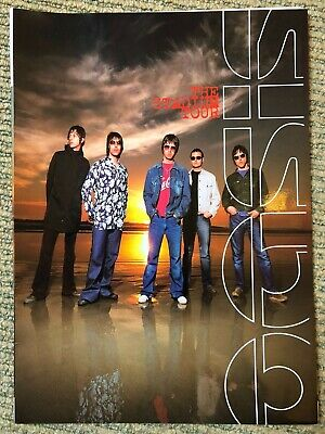 Oasis - The Stadium Tour - Scarce 2000 A4 Promotional Pack + Press Shots • 14.99£