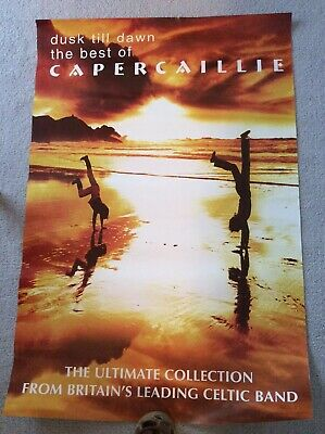 Capercaille Dusk Till Dawn Promotional Poster 1998 • 20£