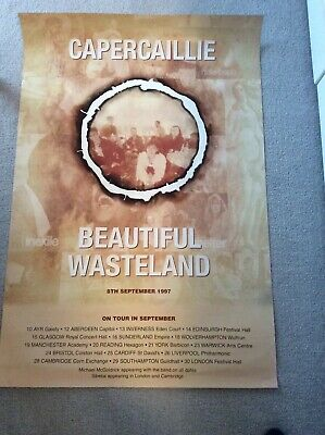 Capercaille Beautiful Wasteland Tour Poster 1997 • 20£