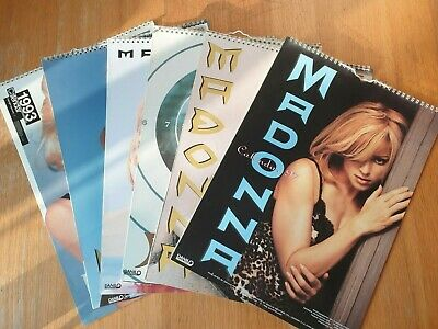 Fully Official Madonna Calendars 1993 - 1997 • 4.99£
