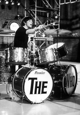The Who Poster Page . 1966 Keith Moon & Premier Drum Kit . R49 • 8.99£