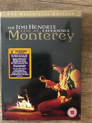 The Jimi Hendrix Experience Live At Monterey The Definitive Edition Dvd New Item • 4.69£