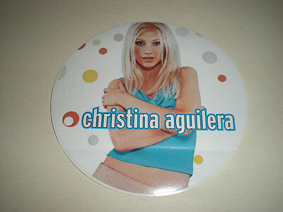 Christina Aguilera - Round Sticker • 11.91£