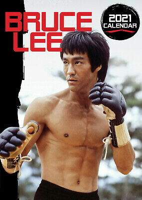 Bruce Lee 2021 A3 Poster Size Calendar New And Sealed  • 8.99£
