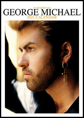 George Michael 2021 A3 Poster Size Calendar New And Sealed  • 8.99£