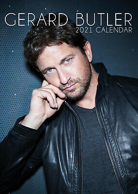 Gerard Butler 2021 A3 Poster Size Calendar New And Sealed  • 8.99£
