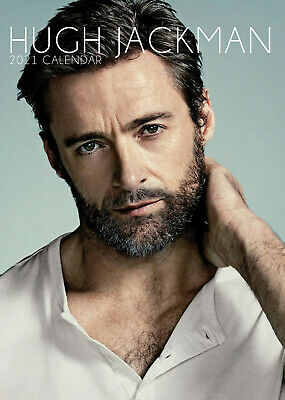 Hugh Jackman 2021 A3 Poster Size Calendar New And Sealed  • 8.99£