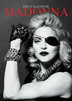 Madonna 2021 A3 Poster Size Calendar New And Sealed  • 9.99£