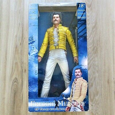 Freddie Mercury - Queen : Original 18  NECA Figure With Sound 2006 Toy Doll  • 299£