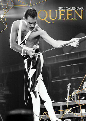 Queen 2021 A3 Poster Size Calendar New And Sealed + Free Uk Postage • 11.99£