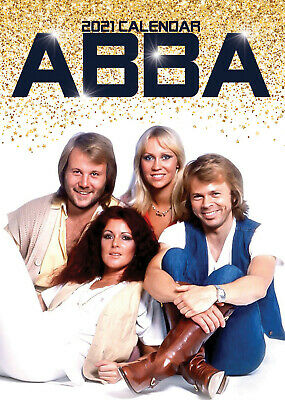 Abba 2021 A3 Poster Size Calendar New And Sealed + Free Uk Postage • 13.99£