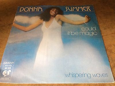 Donna Summer - Could It Be Magic / Whispering Waves - Dutch 7 Vinyl.Very Rare. • 35£