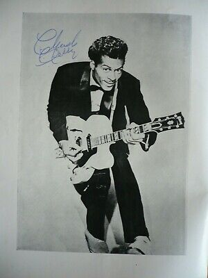 Chuck Berry Signed Autograph 28th May 1964 Bristol Concert Programme EXC • 289.99£