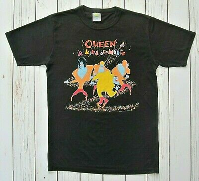 QUEEN Official Vintage A Kind Of Magic 1986 Tour + Dates Concert T-Shirt  • 179.95£