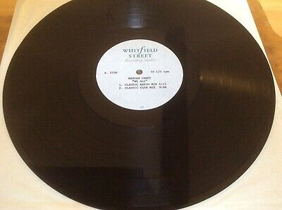 Mariah Carey - My All - UK 3-Track Acetate -Extremely Rare. • 150£