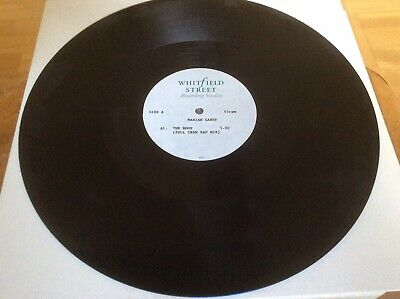 Mariah Carey - The Roof - UK 2-track Acetate -Extremely Rare. • 150£
