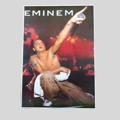 Vintage Late 90's/ Early 00's Eminem Poster A2  Hip Hop Rap New Old Stock • 14.99£
