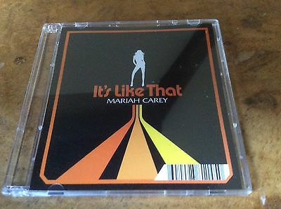 Mariah Carey - It's Like That - 2005 EU 3  Cd Single. • 25£