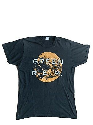 REM Green World Tour 1989 Genuine Vintage T Shirt • 120£