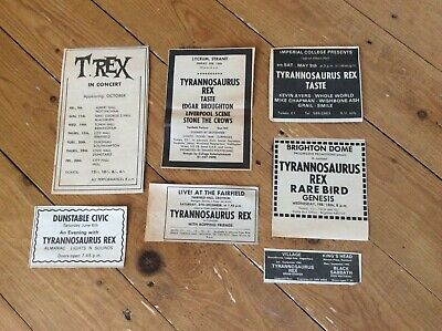 Tyrannosaurus Rex Concert Dates Music Newspaper Cuttings Job Lot Bundle • 23.99£