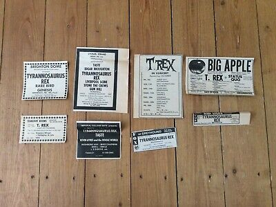 Tyrannosaurus Rex Concert Dates Music Newspaper Cuttings Job Lot Bundle • 24.99£