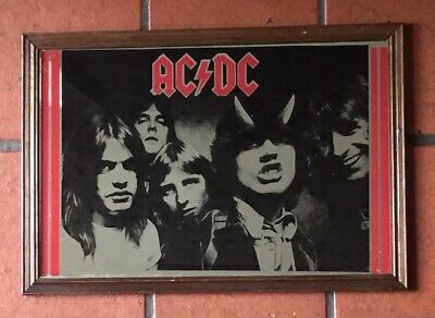 1979 Vintage AC DC Highway To Hell Album Promotional Fan Mirror • 44.95£