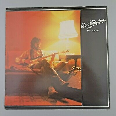 "Eric Clapton - Backless - 12"" Vinyl Lp • 4.25£"