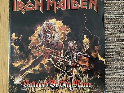 Iron Maiden Hallowed Be Thy Name 7 Inch Red Vinyl • 2.50£