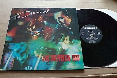 Live At Shepperton -  The Damned  -  Original Uk Big Beat Records  --  1980. • 2.99£