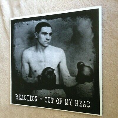 Reaction - Out Of My Head 7  (White Vinyl) Scottish Punk/Ramones/Buzzcocks/Rock • 4.99£