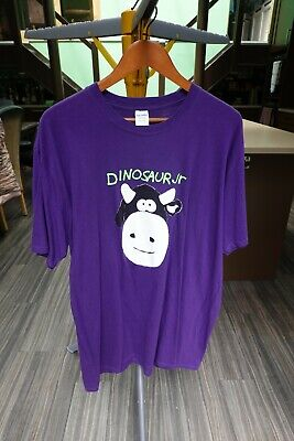 Dinosaur Jr Cow T-Shirt, Men's XXL, Purple • 4.99£