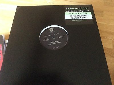 Mariah Carey - We Belong Together - USA 2005 Promo Only 12  Vinyl. • 25£