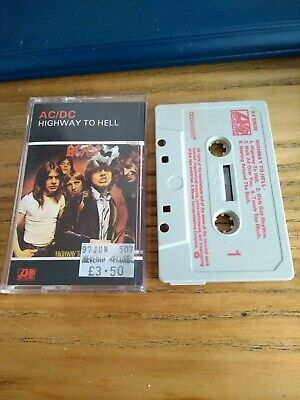 Ac/dc Highway To Hell Cassette Tape • 2.10£
