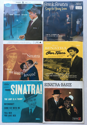Frank Sinatra Classic Capitol / Reprise 7  Vinyl EP Collection As A LOT • 30£