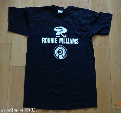 Robbie Williams Intensive Care 2006 Uk/europe Concert Tour Small T Shirt New • 7.99£