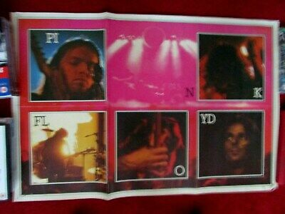 Pink Floyd Poster From The Dark Side Of The Moon Album 1973 • 12£