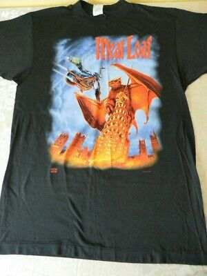 Vintage Meatloaf World Tour Concert Mens T Shirt 93, 94, 95 Everything Louder  • 20£
