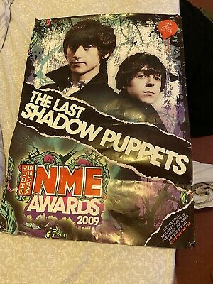The Last Shadow Puppets Poster NME Alex Turner Miles Kane • 35£