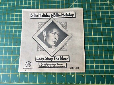 Billie Holiday Lady Sings The Blues Music Newspaper Advertisement 1973 • 7.99£