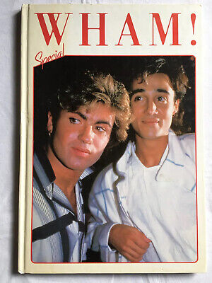 George Michael `Wham Special' Vintage Music Hardback Annual From 1985 UNCLIPPED • 5£