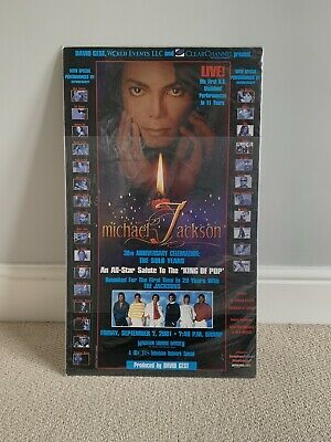Michael Jackson 30th Anniversary Poster Signed • 149.99£