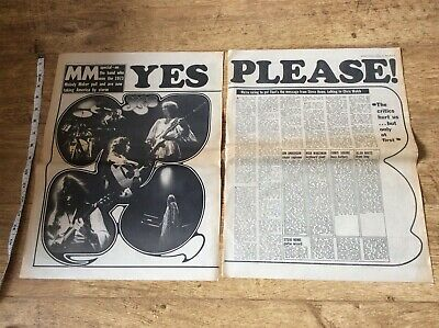 Yes Music Newspaper Article 1974 • 11.99£
