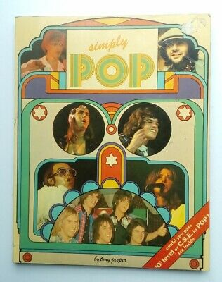 Simply Pop Soft Cover 1975 Music Book By Tony Jasper • 3£