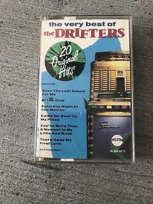 The Very Best Of The Drifters - Cassette Tape • 3.99£