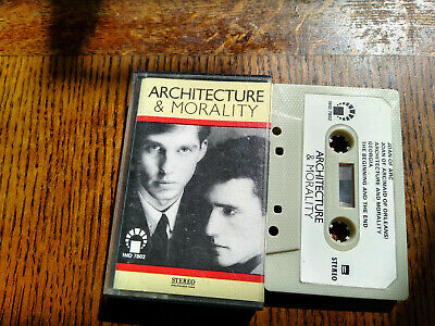 OMD Architecture And Morality Import Cassette • 3.99£