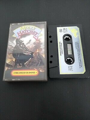 Molly Hatchet - The Deed Is Done Cassette Tape • 2.20£