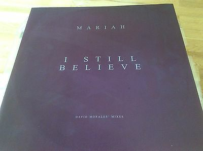 Mariah Carey - I Still Believe - UK 1999 Promo 12  Vinyl. • 20£