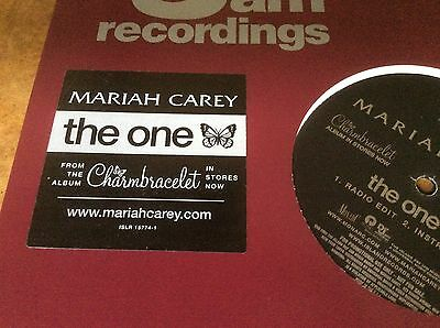 Mariah Carey - The One - USA Promo Only 12  Vinyl. • 20£